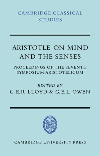 9780521044431: Aristotle on Mind and the Senses (Cambridge Classical Studies)