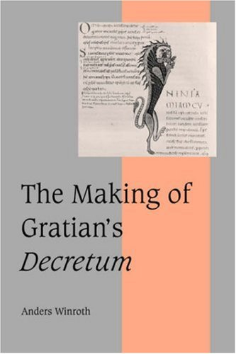 9780521044653: The Making of Gratian's Decretum