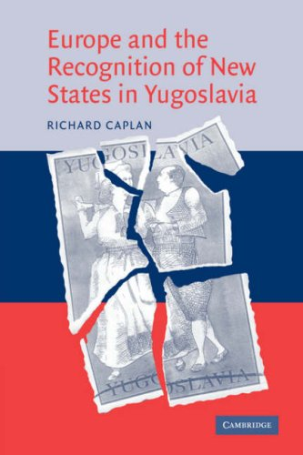 9780521045650: Europe and the Recognition of New States in Yugoslavia