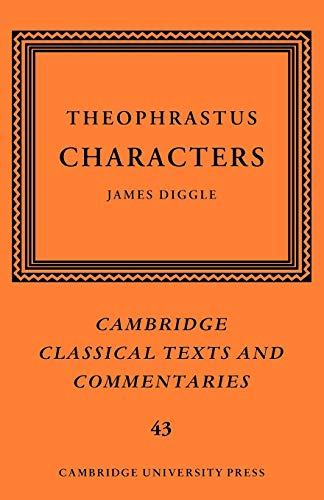 9780521045766: Theophrastus: Characters (Cambridge Classical Texts and Commentaries)