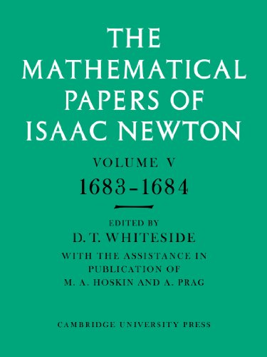 9780521045841: The Mathematical Papers of Isaac Newton: Volume 5, 1683-1684 (The Mathematical Papers of Sir Isaac Newton)