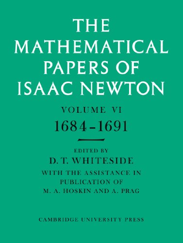 9780521045858: The Mathematical Papers of Isaac Newton: Volume 6 (The Mathematical Papers of Sir Isaac Newton)