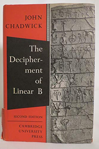 9780521045995: The Decipherment of Linear B