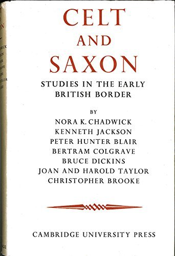 9780521046022: Celt and Saxon: Studies in the Early British Border
