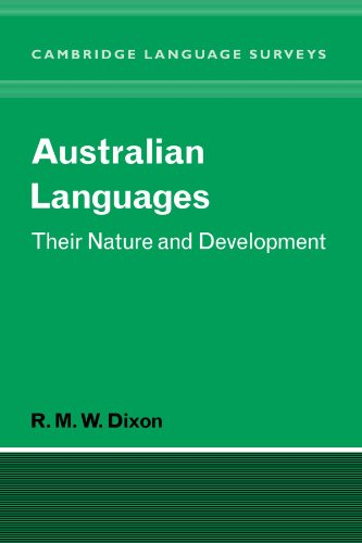 9780521046046: Australian Languages: Their Nature and Development (Cambridge Language Surveys)