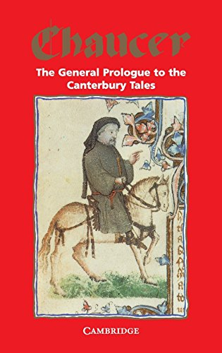 9780521046299: The General Prologue to the Canterbury Tales (Selected Tales from Chaucer)