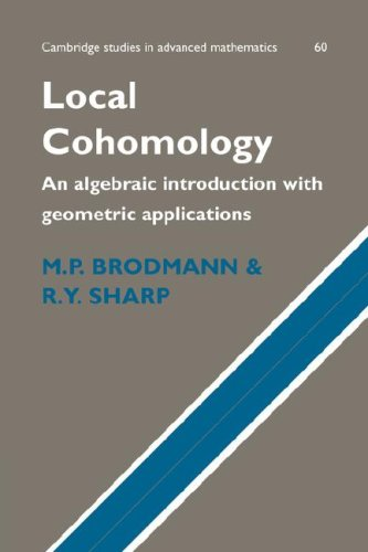 9780521047586: Local Cohomology: An Algebraic Introduction with Geometric Applications (Cambridge Studies in Advanced Mathematics)