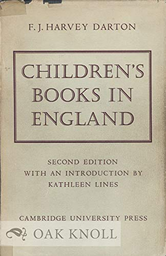 9780521047746: Children's Books in England: Five Centuries of Social Life