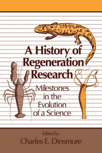 9780521047968: A History of Regeneration Research: Milestones in the Evolution of a Science