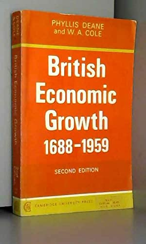 9780521048019: British Economic Growth 1688-1959: Trends and Structure (Department of Applied Economics Monographs)