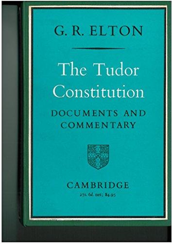 9780521048910: The Tudor Constitution