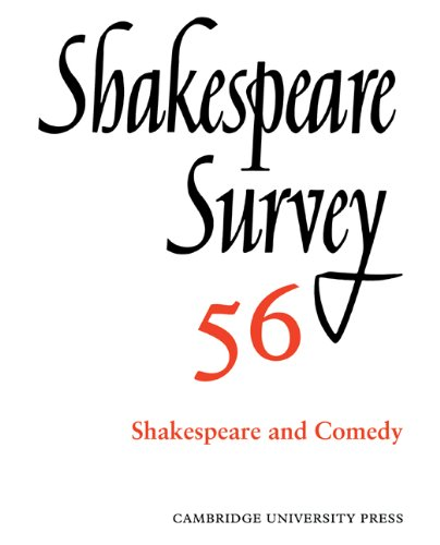 9780521049993: Shakespeare Survey: Volume 56, Shakespeare and Comedy: An Annual Survey of Shakespeare Studies and Production