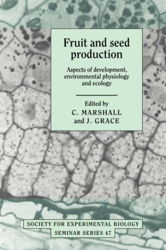 9780521050456: Fruit and Seed Production: Aspects of Development, Environmental Physiology and Ecology (Society for Experimental Biology Seminar Series)