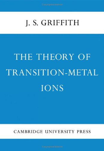 9780521051507: The Theory of Transition-Metal Ions
