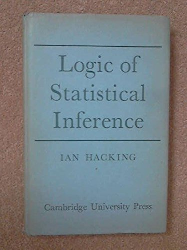 9780521051651: Logic of Statistical Inference
