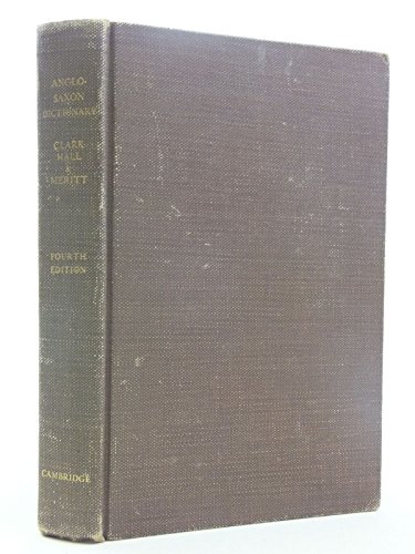 9780521051798: A Concise Anglo-Saxon Dictionary