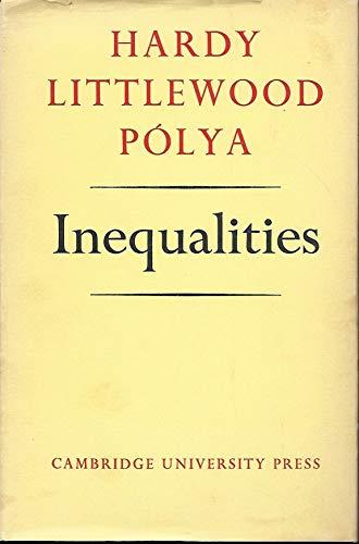 9780521052061: Inequalities