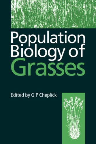9780521052351: Population Biology of Grasses