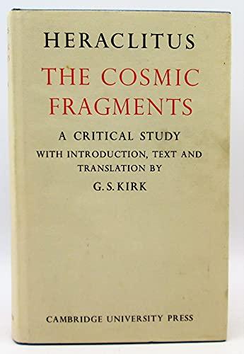 9780521052450: Heraclitus: The Cosmic Fragments