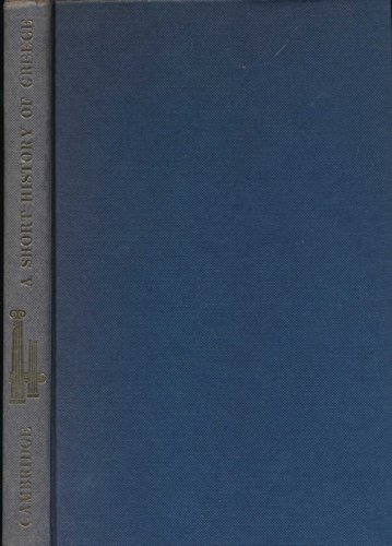 9780521052504 A Short History Of Greece From Early Times To 1964