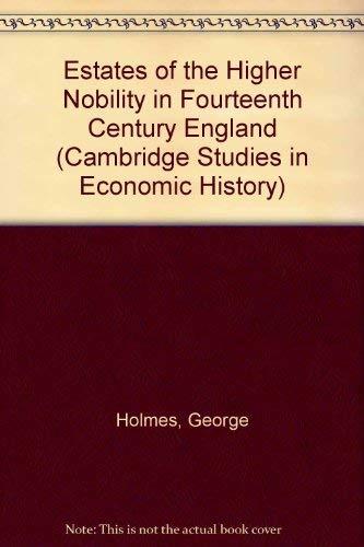 9780521053150: Estates of the Higher Nobility in Fourteenth Century England (Cambridge Studies in Economic History)
