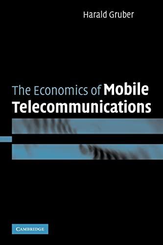 9780521054652: The Economics of Mobile Telecommunications