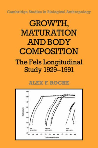 9780521055123: Growth, Maturation, and Body Composition: The Fels Longitudinal Study 1929-1991 (Cambridge Studies in Biological and Evolutionary Anthropology)