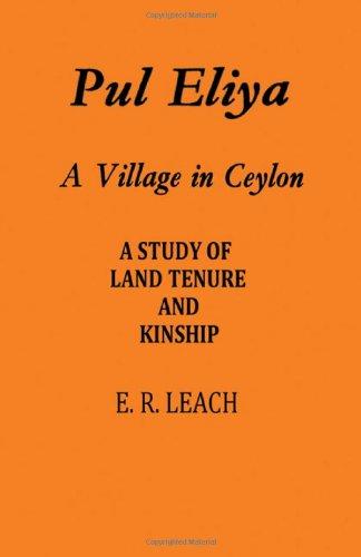 9780521055246: Pul Eliya: A Village in Ceylon