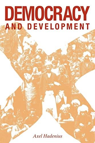 9780521055307: Democracy and Development