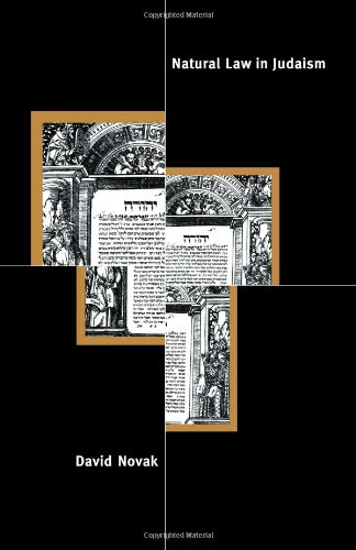 9780521055680: Natural Law in Judaism