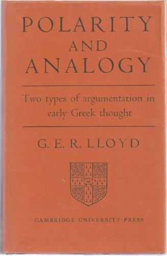 9780521055789: Polarity and Analogy