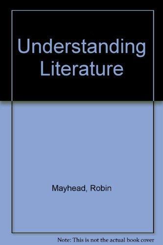 9780521057059: Understanding Literature