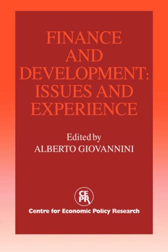 Finance and Development: Issues and Experience