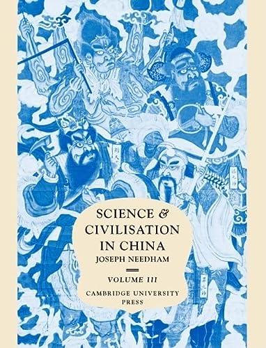003: Science and Civilisation in China, Volume: Needham, Joseph