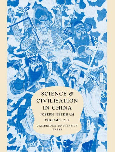9780521058025: Science and Civilisation in China: Volume 4, Physics and Physical Technology, Part 1, Physics: Physics and Physical Technology Vol 4