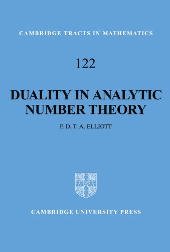 9780521058087: Duality in Analytic Number Theory (Cambridge Tracts in Mathematics)