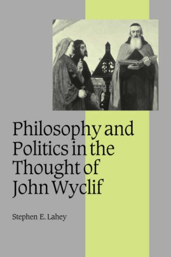 9780521058469: Philosophy and Politics in the Thought of John Wyclif (Cambridge Studies in Medieval Life and Thought: Fourth Series)