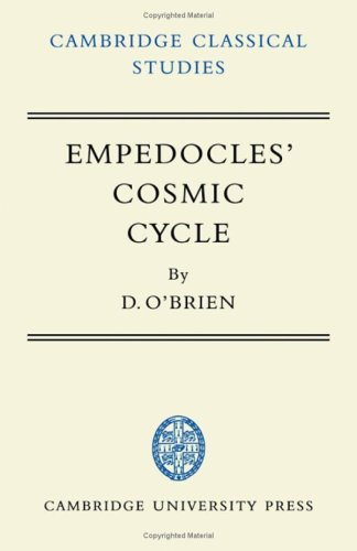 9780521058551: Empedocles' Cosmic Cycle: A Reconstruction from the Fragments and Secondary Sources (Cambridge Classical Studies)