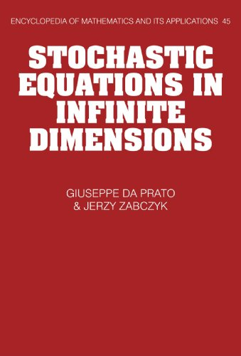9780521059800: Stochastic Equations in Infinite Dimensions