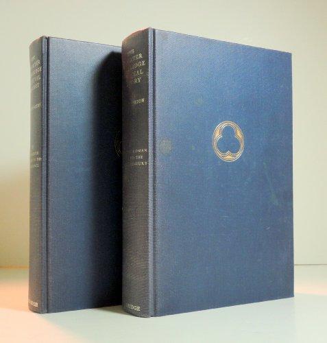 9780521059930: THE SHORTER CAMBRIDGE MEDIEVAL HISTORY: VOLS. I - II.
