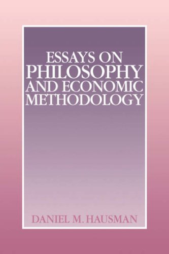 9780521060141: Essays on Philosophy and Economic Methodology