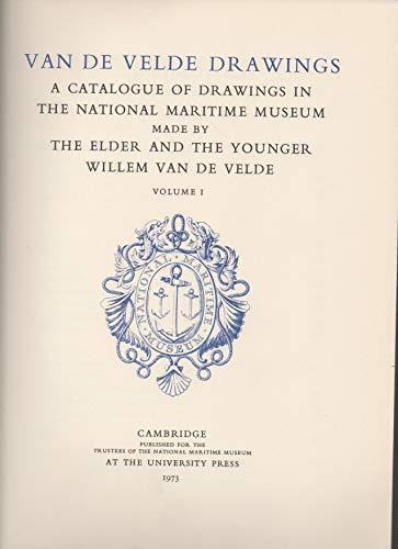 9780521061148: Van De Velde Drawings 1: The Greenwich Collection v. 1