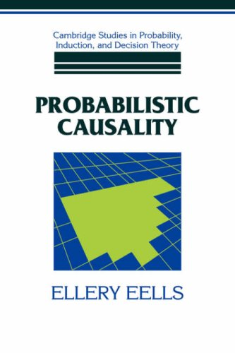 9780521061322: Probabilistic Causality (Cambridge Studies in Probability, Induction and Decision Theory)