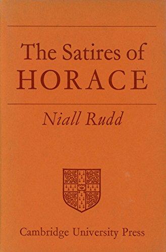 9780521061605: Satires of Horace