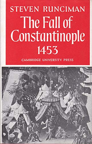9780521061650: Fall of Constantinople
