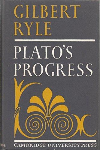 9780521061780: Plato's Progress