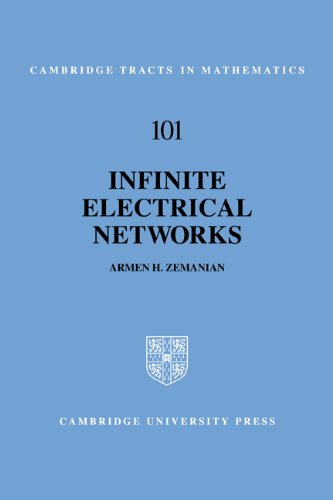 9780521063395: Infinite Electrical Networks (Cambridge Tracts in Mathematics)