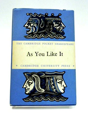 9780521063807: As You Like It: The Cambridge Dover Wilson Shakespeare (The Cambridge Dover Wilson Shakespeare Series)