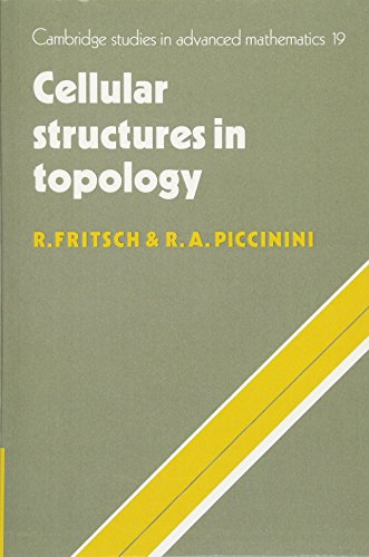 9780521063876: Cellular Structures in Topology (Cambridge Studies in Advanced Mathematics)