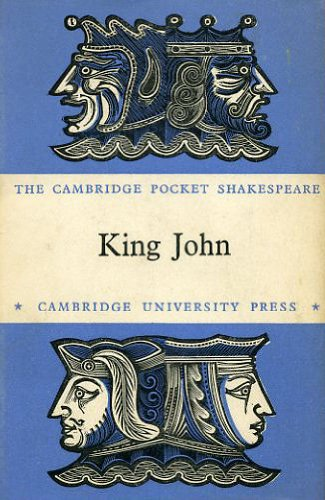 9780521063920: King John (Pocket Shakespeare)